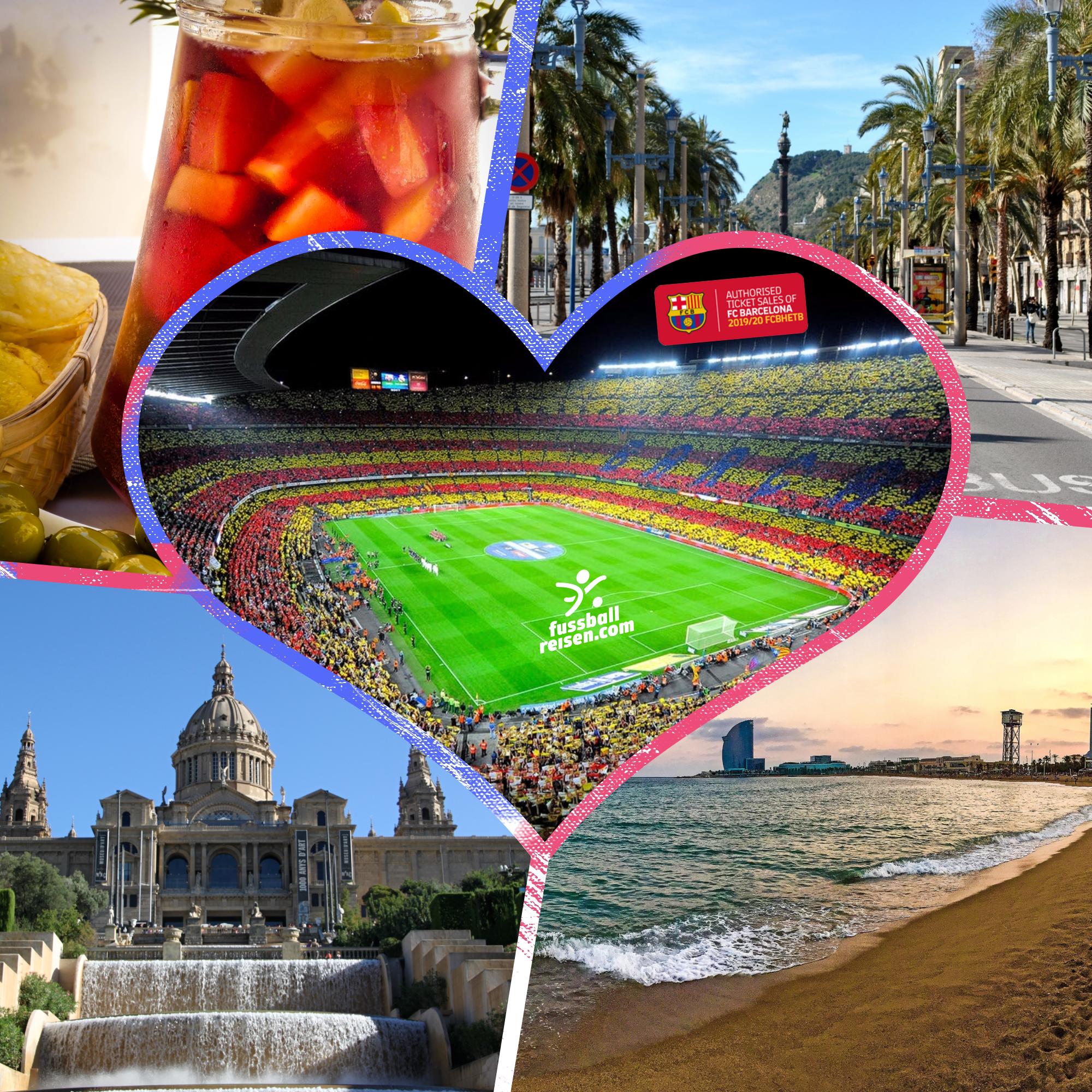 Fußballreisen zum FC Barcelona mit fussballreisen.com