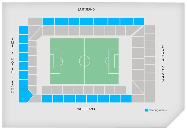 Stadionplan Tottenham Hotspur Stadium